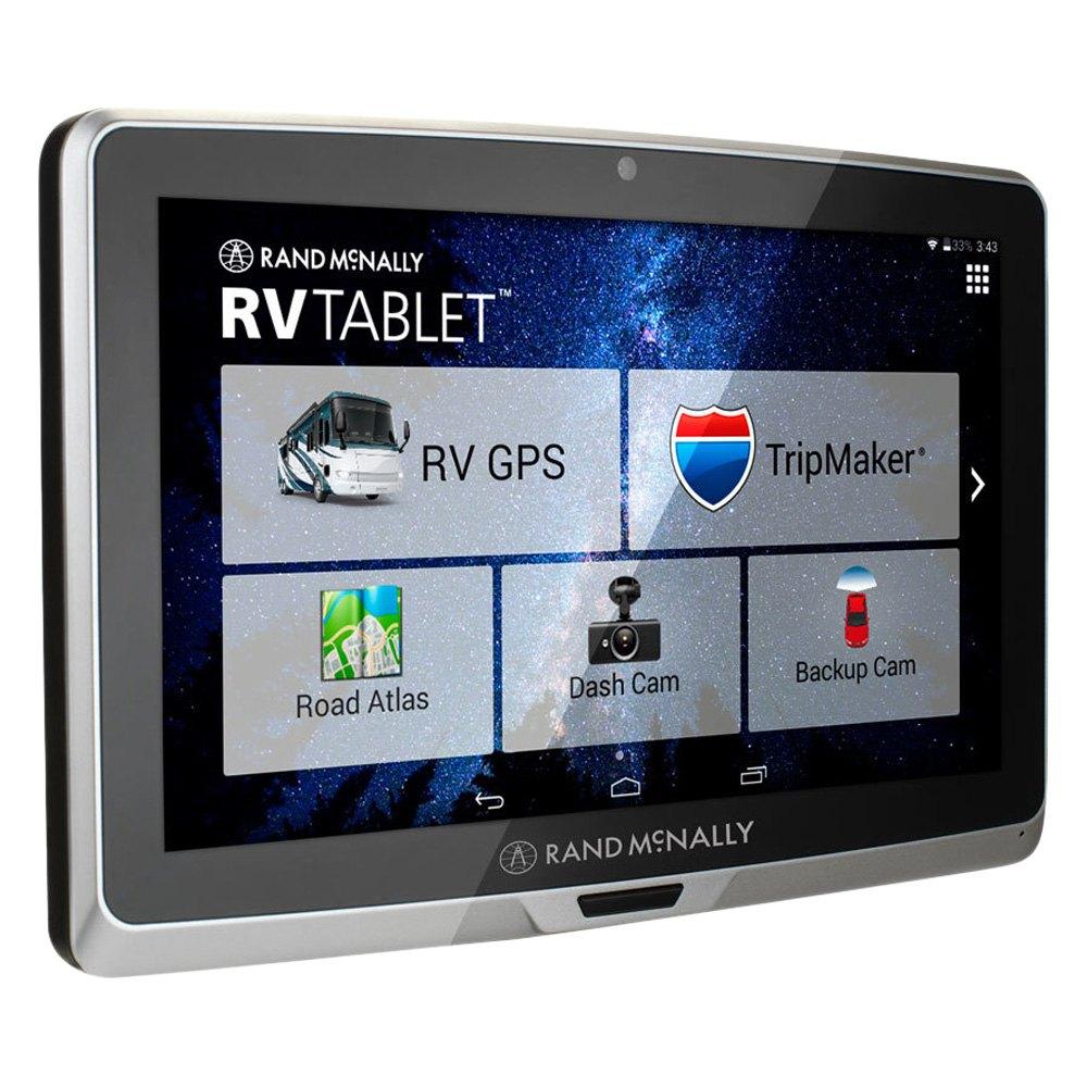 Rand Mcnally Gps >> Rand Mcnally Rv Tablet 70 7 0 Gps Navigator With Built In Dash Cam And Lifetime Maps