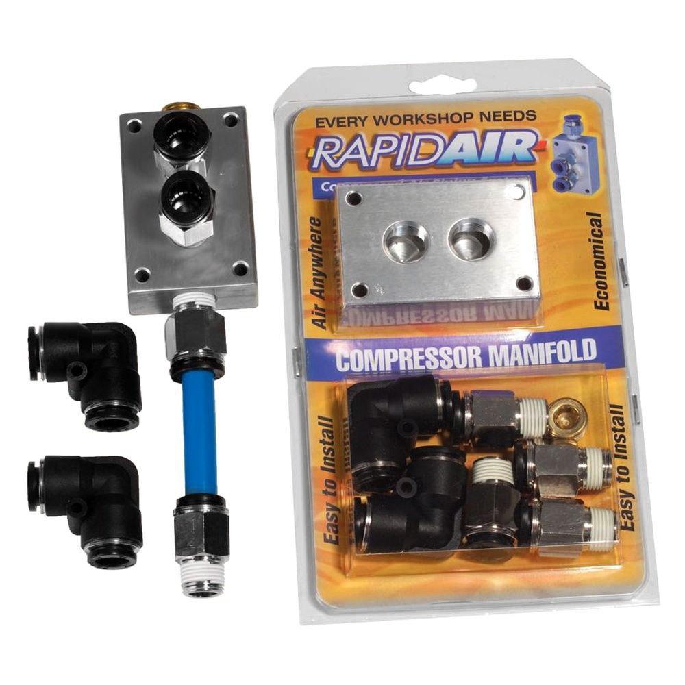 Rapidair rap compressor manifold kit