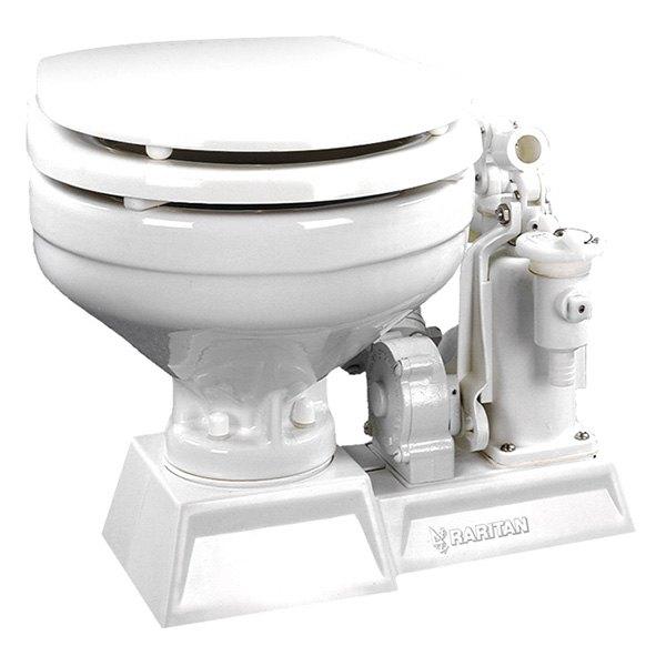 Raritan PHEII12 Standard Electric Toilet With White Marine Size Bowl