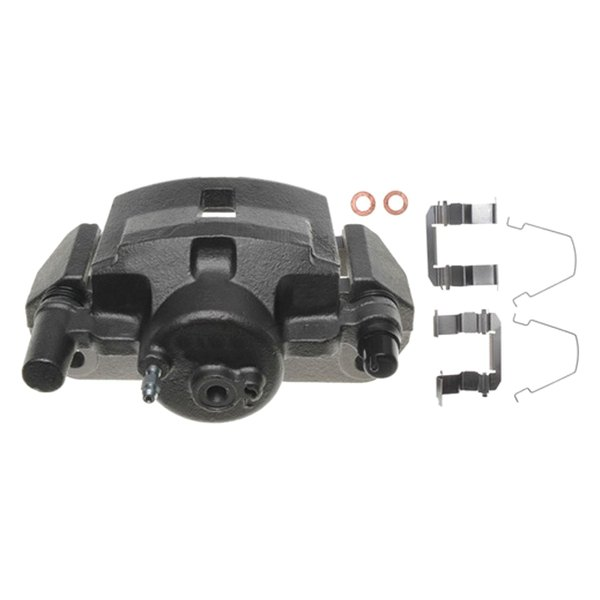 FRONT Performance Loaded Powder Coated Red Caliper Assembly 2 SN95 CK00254 Quiet Low Dust Ceramic Brake Pads