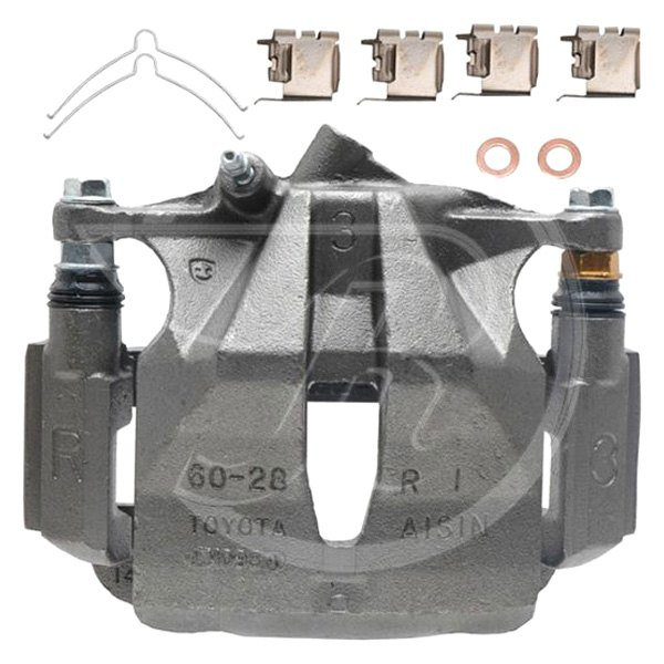 Disc Brake Caliper-R-Line Unloaded Caliper with Bracket Rear Left FRC11110 Reman