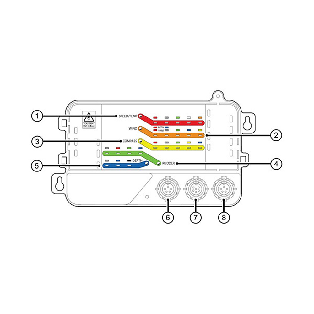 raymarine u00ae e70010 - itc-5 transducer converter