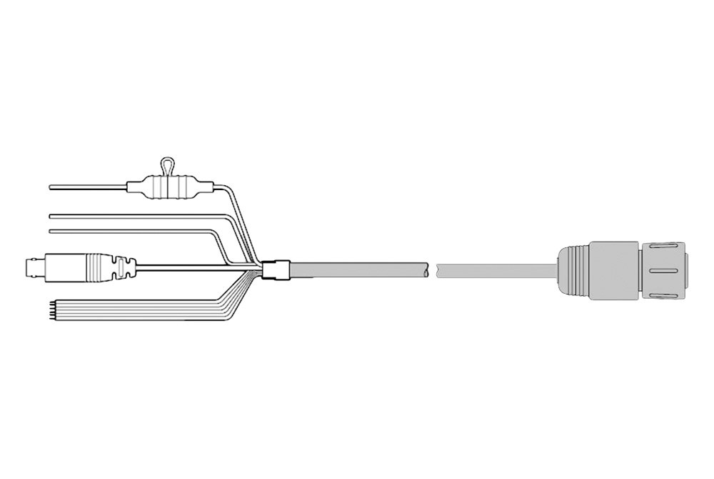 raymarine u00ae r62379  nmea 0183  video cable for