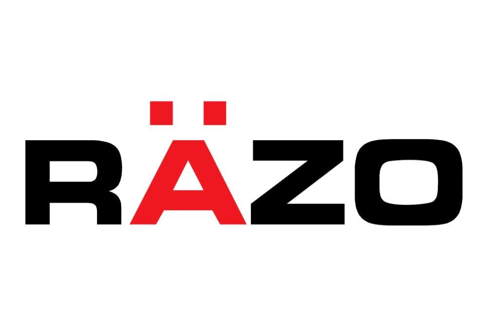 Razo 174 Manual Carbon Plus Dark Chrome Series Black Shift Knob
