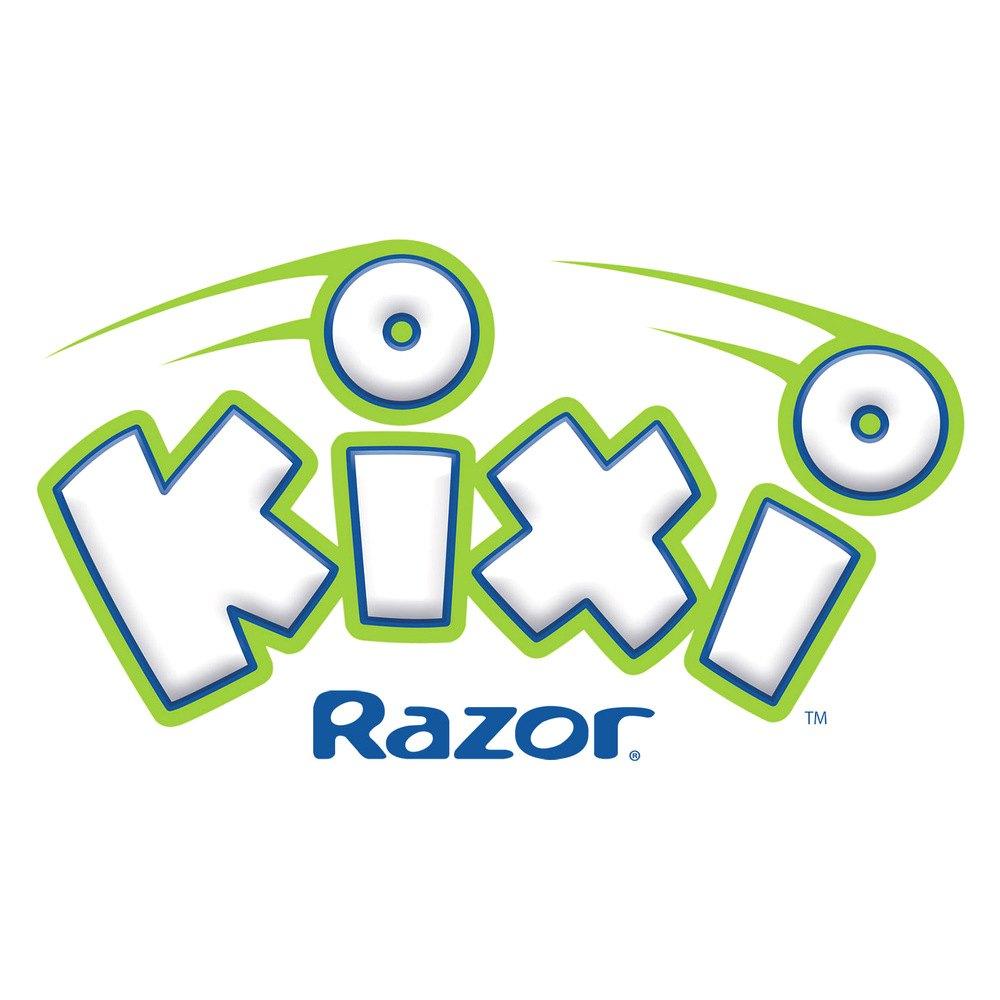 Razor® 13059640 - Kixi™ Scribble Blue/Green Kick Scooter