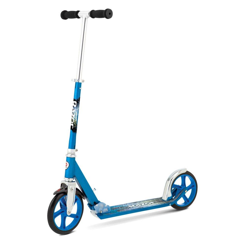 razor 13013240 a5 lux kick scooter blue. Black Bedroom Furniture Sets. Home Design Ideas