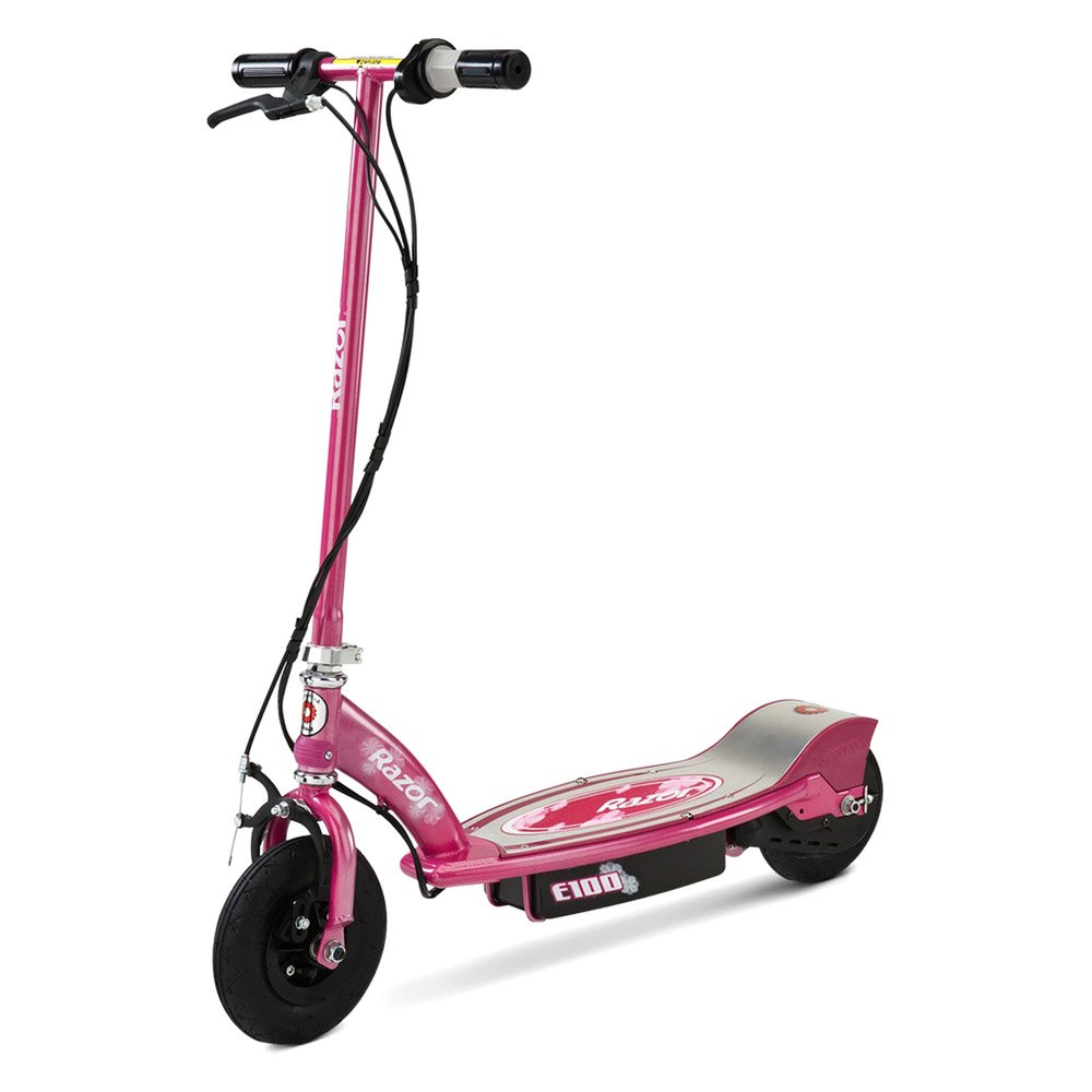 Details about Razor 13111263 - E100 Electric Scooter (Sweet Pea)