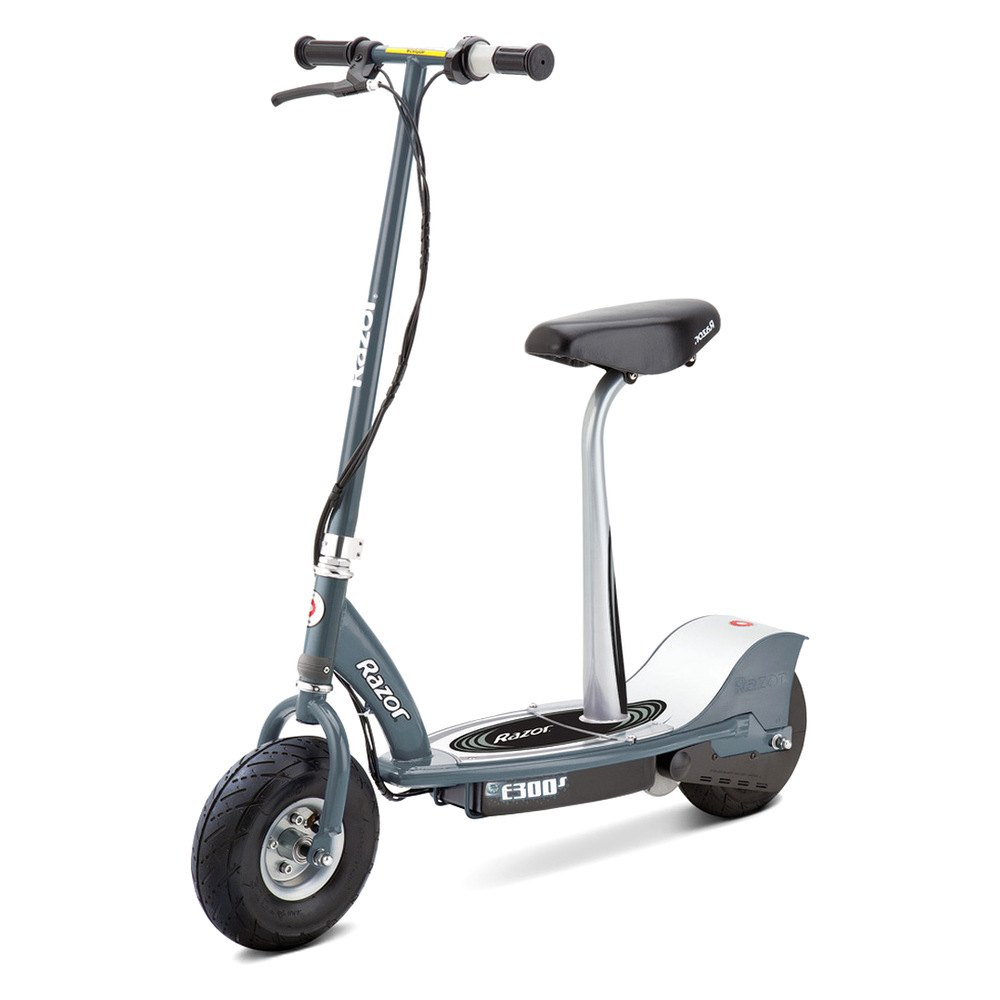 Razor 174 13116214 E300s Gray Electric Scooter With