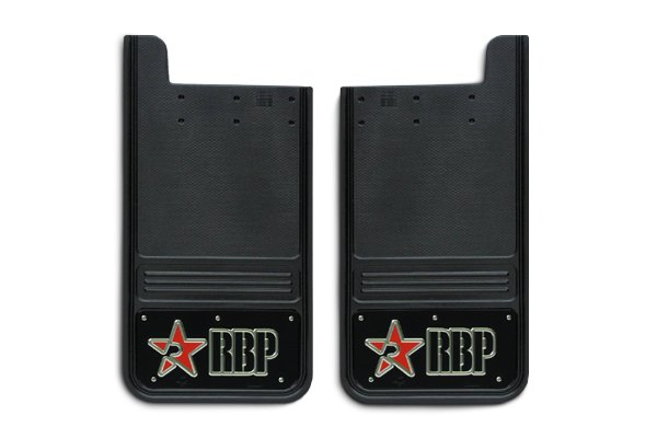 RBP® Mud Flap with Logo on SS Background