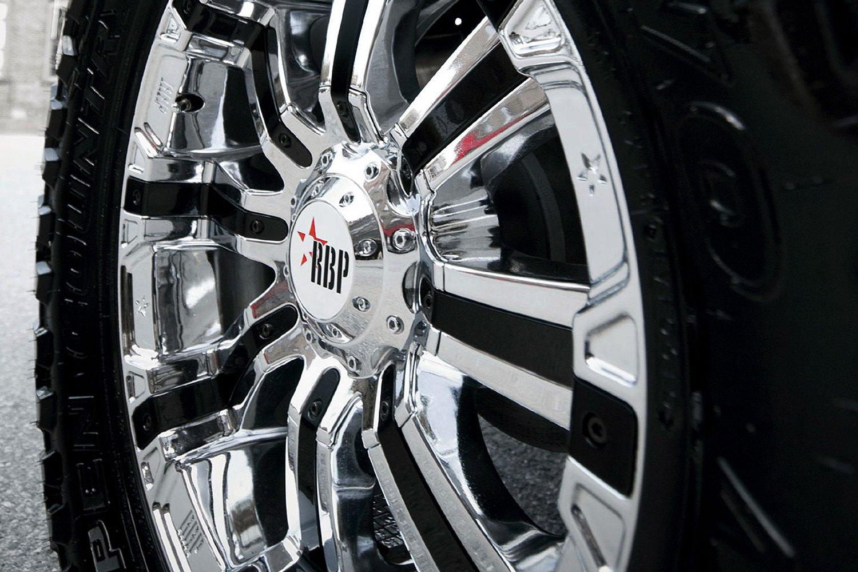 RBP® 94R Wheels - Chrome with Black Inserts Rims