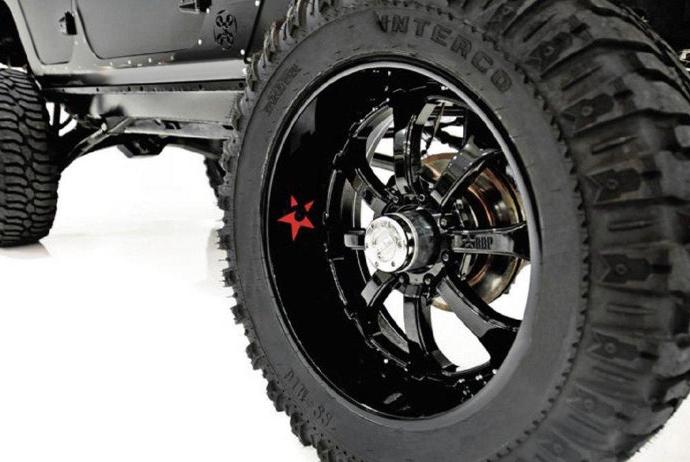RBP® - 96R Black Wheels on Jeep Wrangler