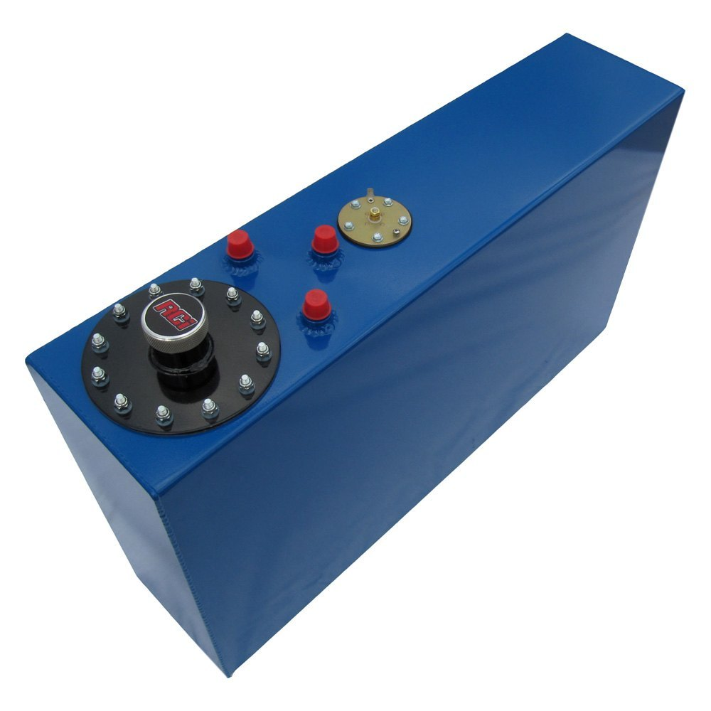 Rci 174 2171ac 17 Gal Aluminum Blue Fuel Cell With Sending