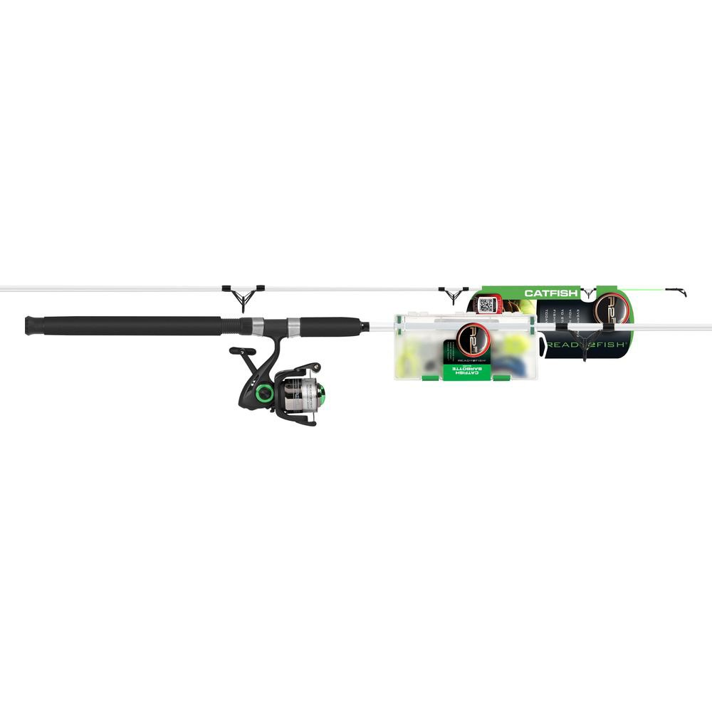 Ready2fish r2f2 cf s catfish spin combo with kit for Ready 2 fish