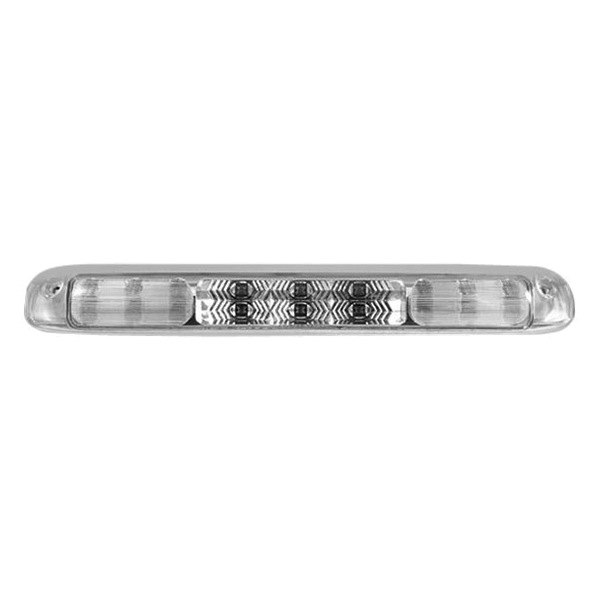 Recon 264115cl Chevy Silverado 2004 Chrome Led 3rd Brake Light