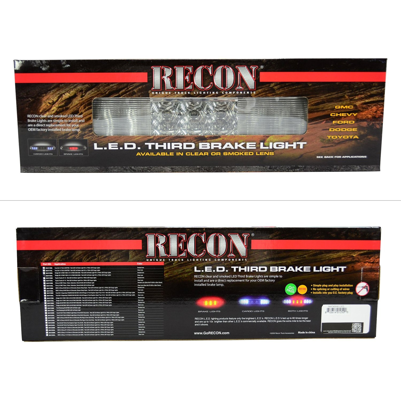 Recon 264112CL LED 3rd Brake