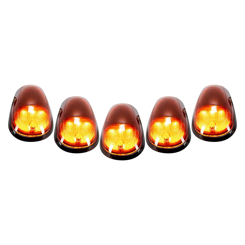 Recon 174 264146am Black Amber Led Cab Roof Lights