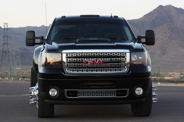 ... Black/Smoke LED Cab Roof LightsRecon® ...