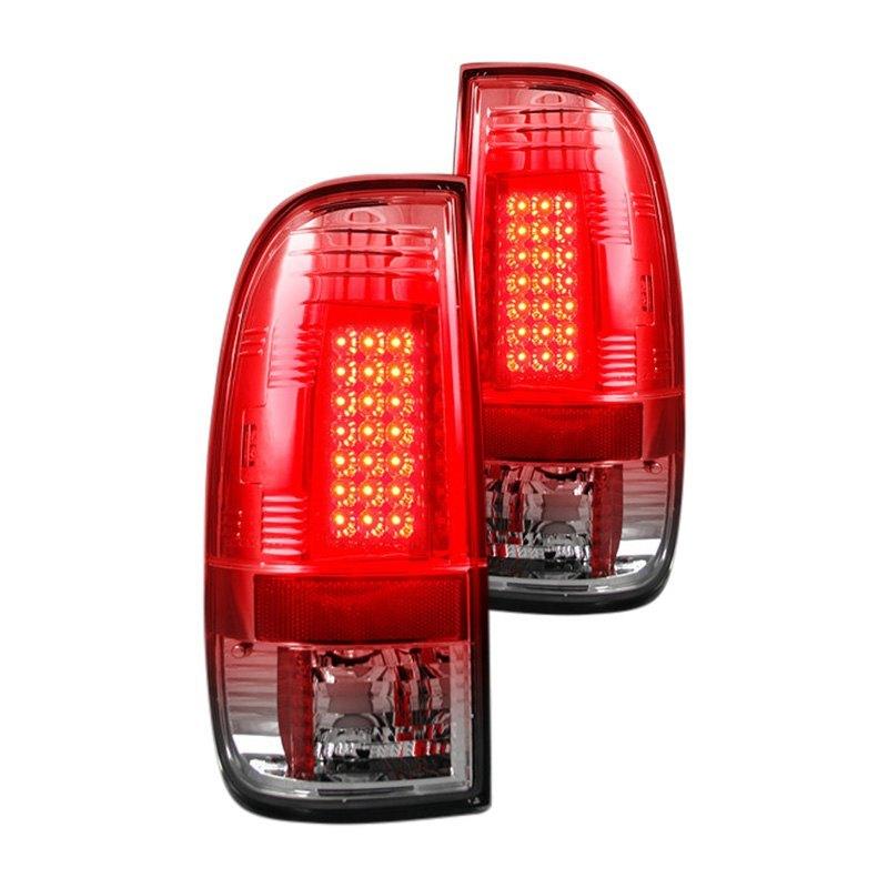 recon ford f 250 2011 chrome led tail lights. Black Bedroom Furniture Sets. Home Design Ideas