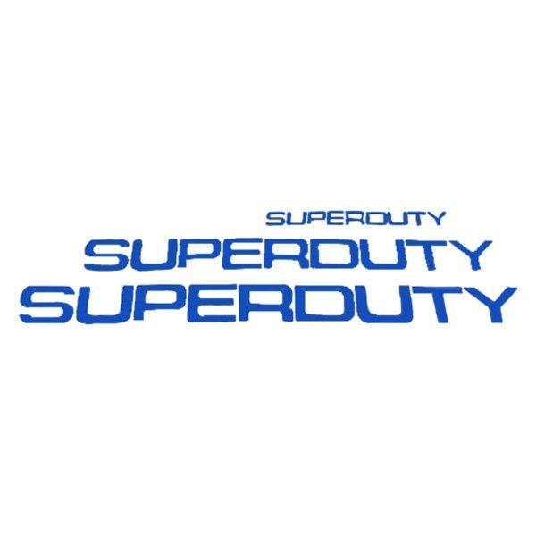 Recon 174 Ford F 350 Super Duty 2008 Quot Super Duty Quot Lettering Kit