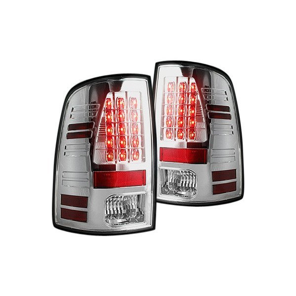 Recon Dodge Ram 1500 2500 3500 2014 Chrome Led Tail Lights