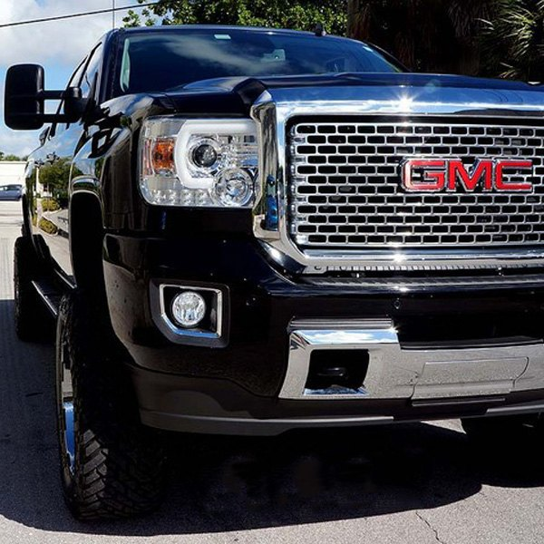 recon gmc sierra with factory halogen headlights with. Black Bedroom Furniture Sets. Home Design Ideas