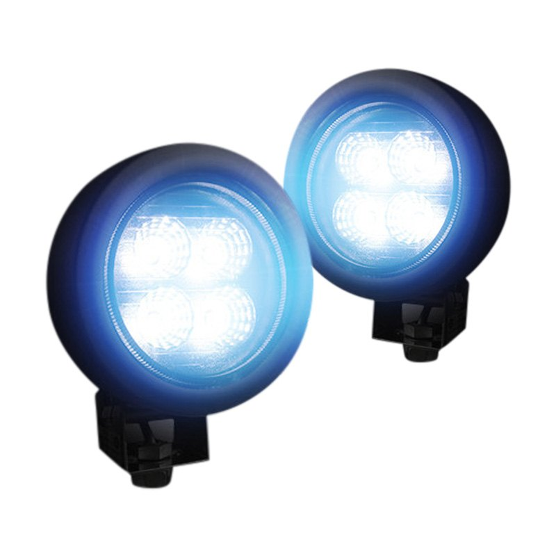 Recon® - High Intensity Round Driving Beam LED Lights (3