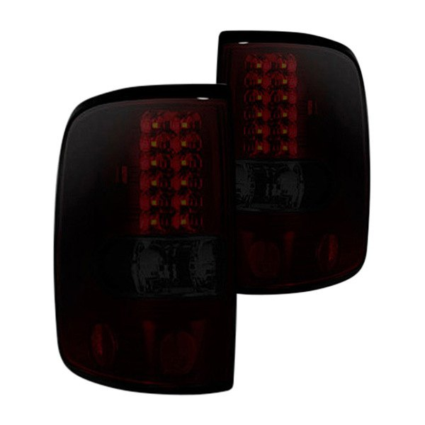 recon 264178rbk ford f 150 2005 black red smoke led tail lights. Black Bedroom Furniture Sets. Home Design Ideas