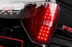 Recon® - LED Tail Lights Installed on Ford F-150