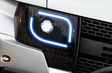 Recon® - Plank Style Projector Headlights Installed on Ford