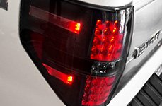 Recon® - Smoke LED Tail Lights Installed on Ford
