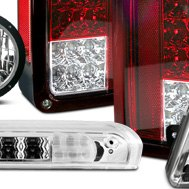 Recon® - Red Tail Lights and 3rd Brake Light
