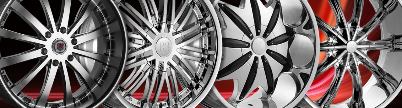 Universal Red Sport WHEELS & RIMS