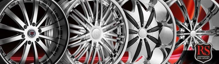 Red Sport Wheels & Rims