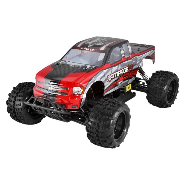 Red Gas Rampage XT 1/5 Scale Truck