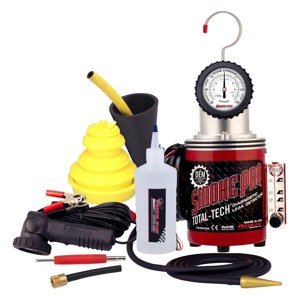 Car Paint Detector >> Redline Detection® 95-0003B - Smoke Pro™ Total Tech™ Diagnostic Leak Detector Kit - TOOLSiD.com