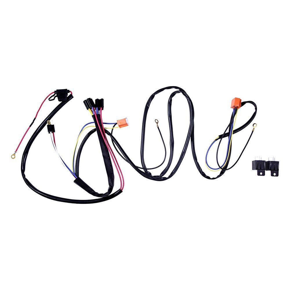 redline lumtronix 174 eh 002 electrical harness power upgrade kit with 4 headlight connections