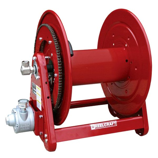 Reelcraft® AA33118-L6A - 30000 Series 4 Hp Air Motor with 125' Swivel