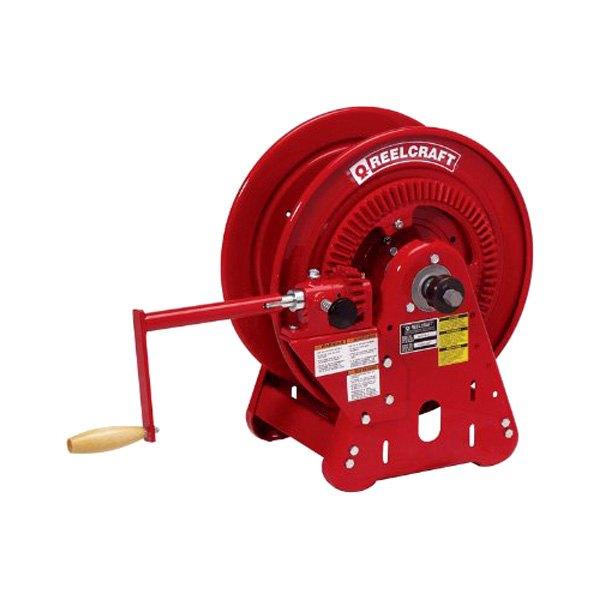 "Reelcraft® - 30000 Series 1/4"" x 125' 200 PSI Bevel Crank Gas Welding"