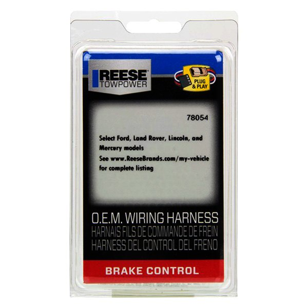 Reese Towpower 78054 Brake Control Wiring Harness for Ford//Land Rover