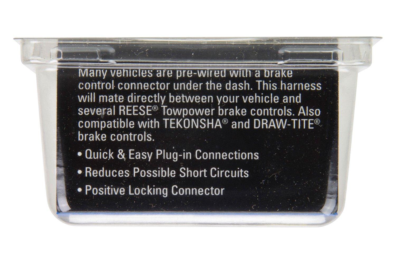 78055 REESE Brake Control Harness,Lexus//Toyota
