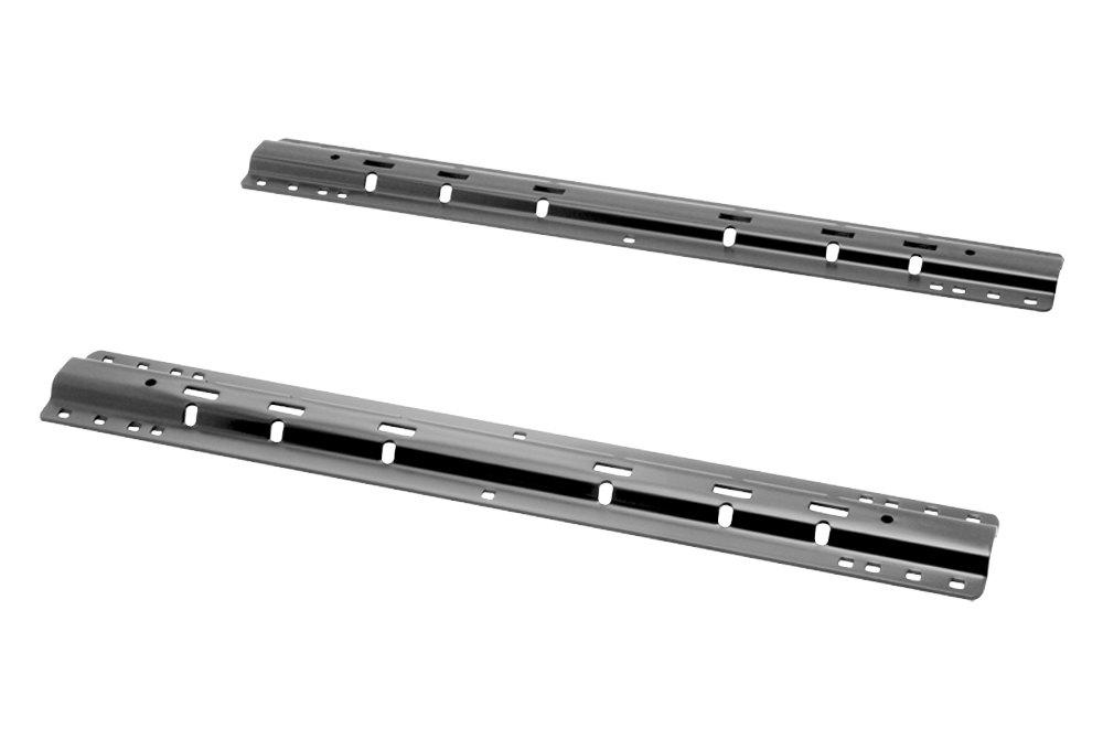 10 bolt design 5th wheel rails with installation