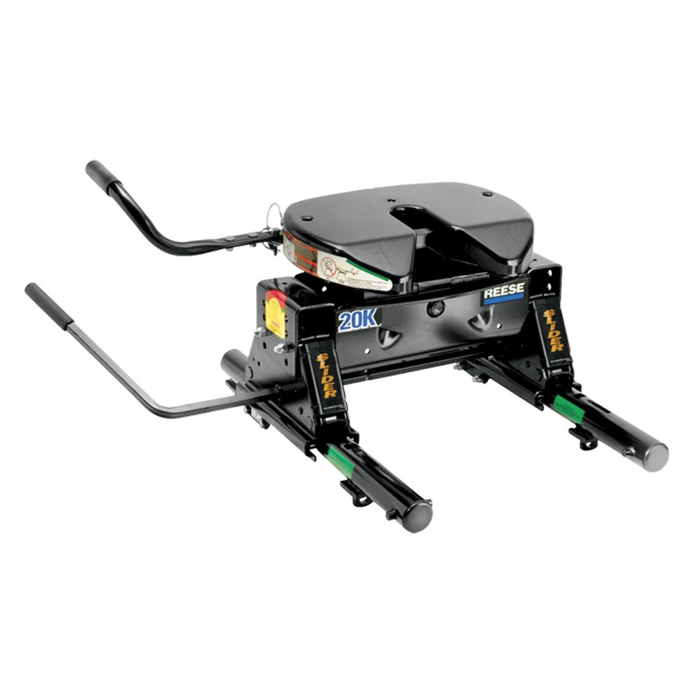5th Wheel Camper Hitch >> Reese® 30083 - 20K 5th Wheel Hitch with Round Slider Unit