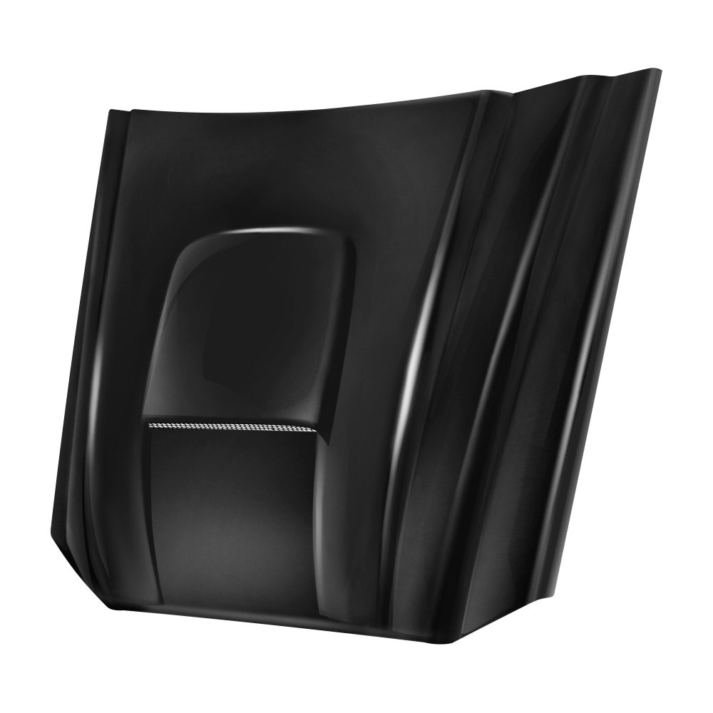 Steel Cowl Hoods ~ Reflexxion steel hood