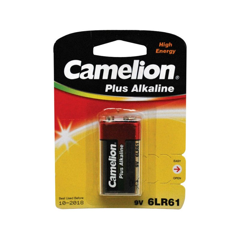 reikken 9vh1 camelion 9 volt battery single pack. Black Bedroom Furniture Sets. Home Design Ideas