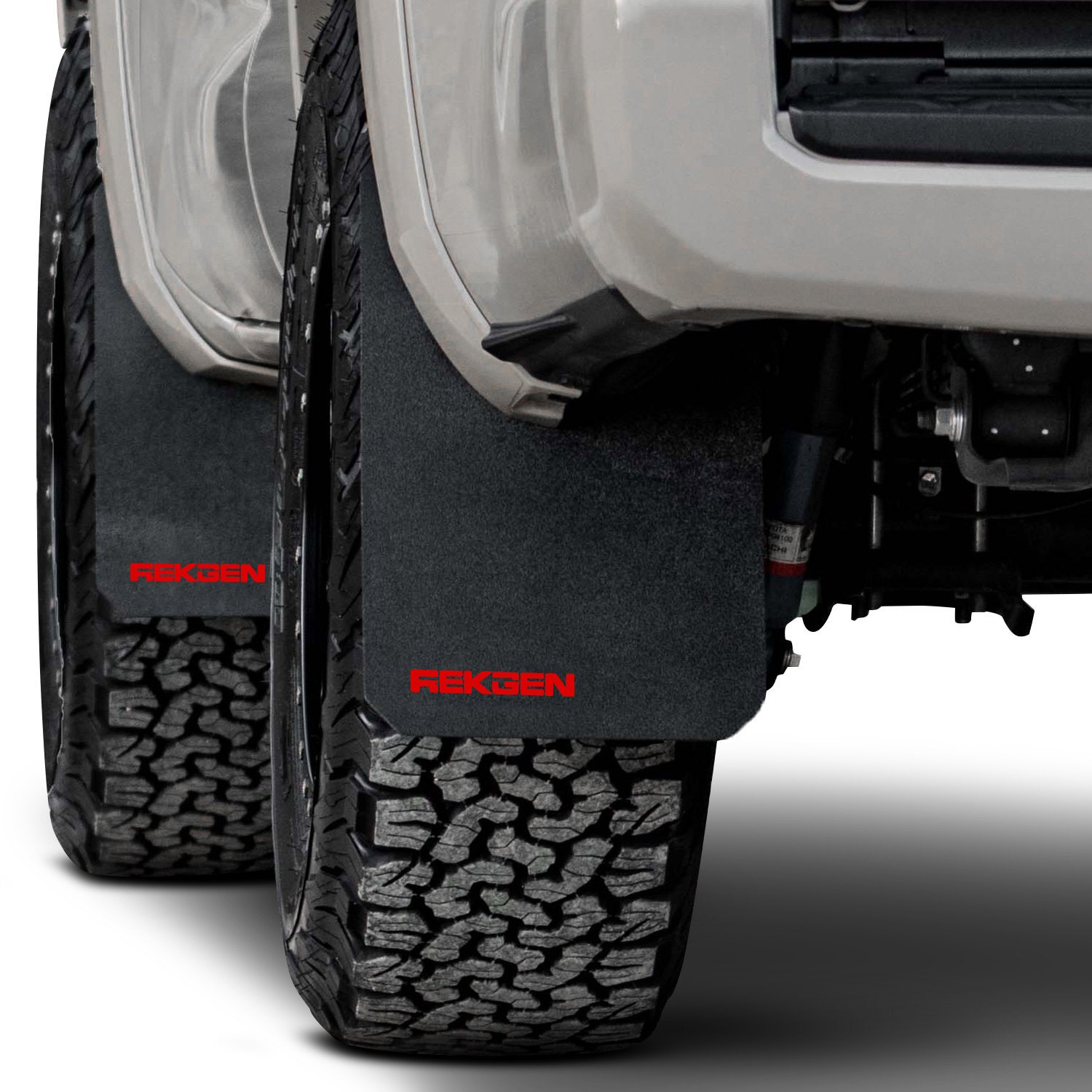 Semi Truck Mud Flaps >> For Toyota Tacoma 2016-2019 Rek Gen T1004 Rally Edition Mud Flaps w Red Logo | eBay