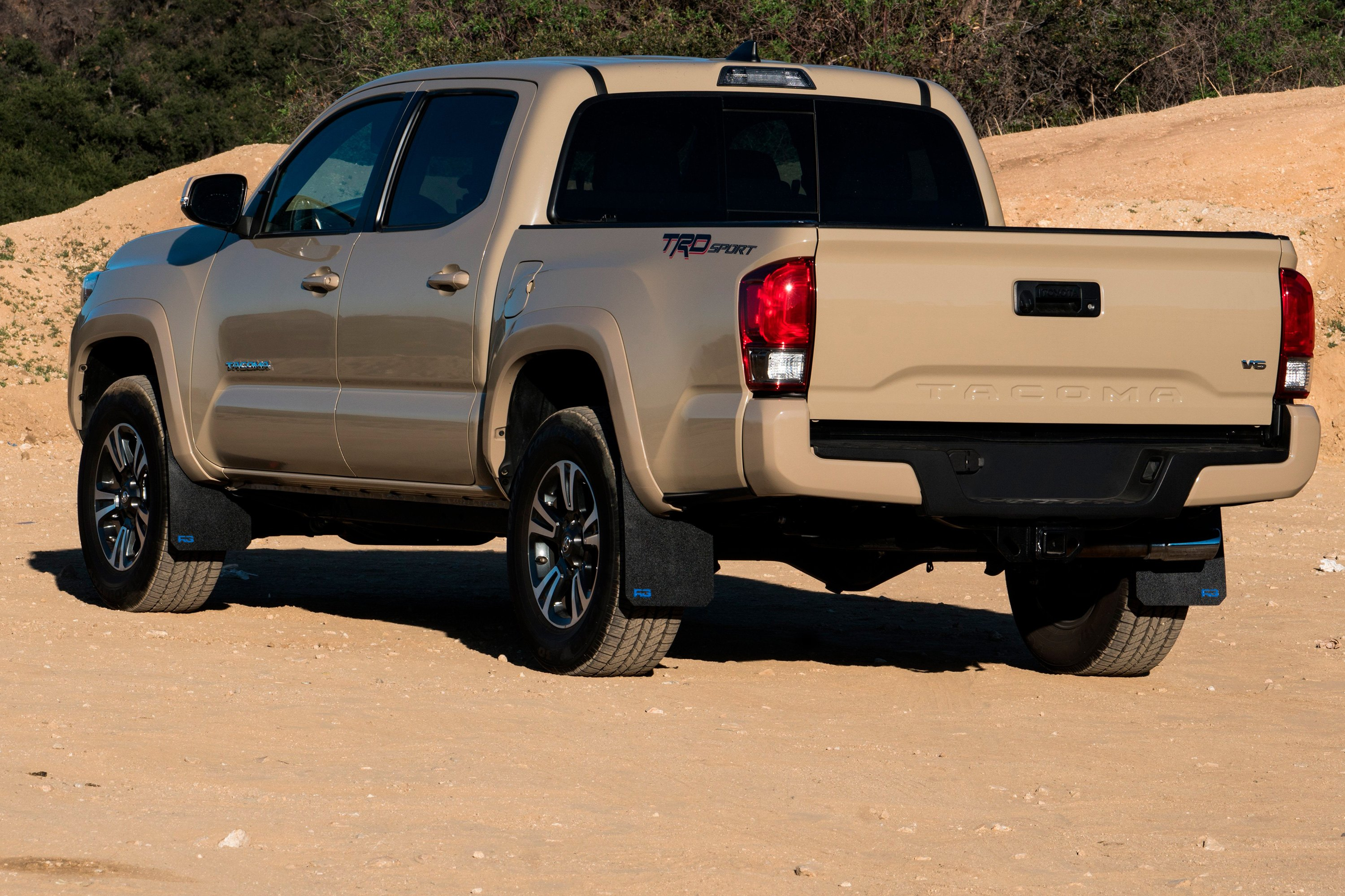 For Toyota Tacoma 16 17 Rek Gen T2003 Rally Edition Mud Flaps W Race