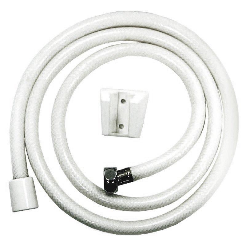relaqua as 140w white shower head hose. Black Bedroom Furniture Sets. Home Design Ideas