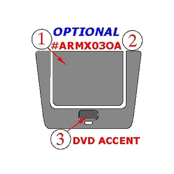 Acura  2003 on Remin   Armx03oa   Acura Mdx 2003 2006 Optional Dvd Entertainment