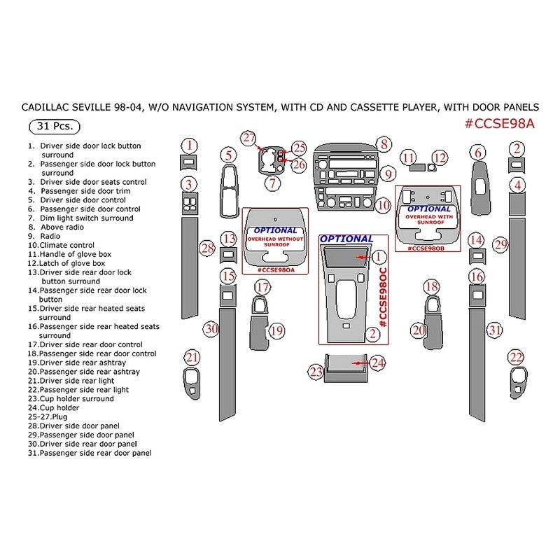remin u00ae  o navigation system 2002 factory match main dash kit