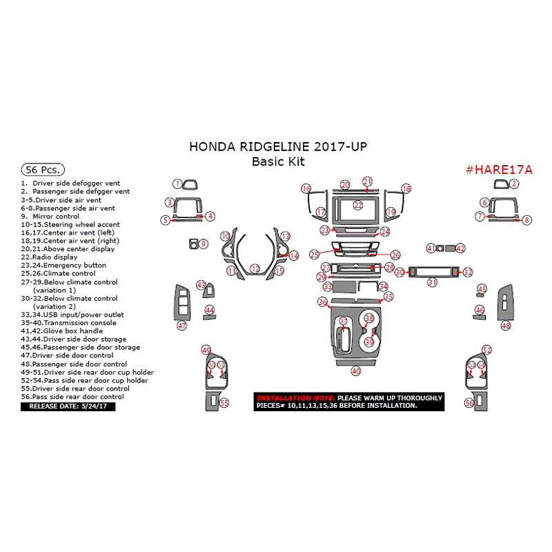 30 Honda Ridgeline Parts Diagram